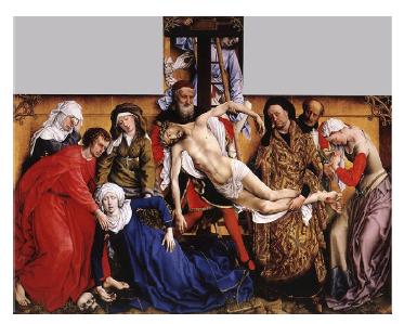 El Descendimiento De La Cruz De Roger Van Der Weyden Lágrimas